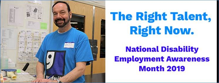 GOODWILL INDUSTRIES OF NORTH LOUISIANA MARKS NATIONAL DISABILITY EMPLOYMENT AWARENESS MONTH
